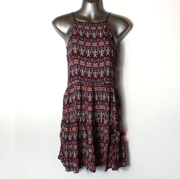 Abercrombie & Fitch Dresses & Skirts - Abercrombie & Fitch Boho Cross Strap Dress